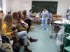 Devetošolci na ogledu ŠC SLovenj Gradec